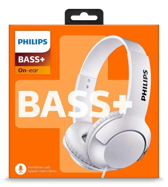 Philips Bass+ SHL3075 On-Ear Koptelefoon
