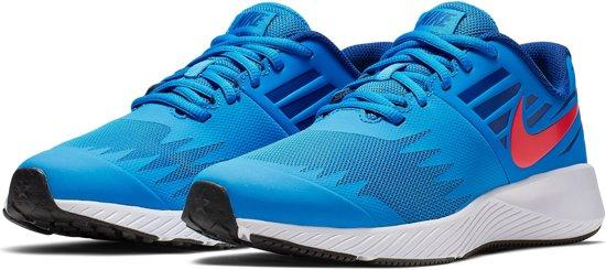 Nike Star Runner  Sportschoenen - Maat 36 - Unisex - donker blauw/wit/rood
