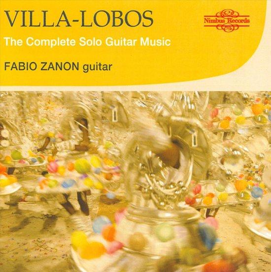 Villa-Lobos: Complete Solo Guitar M