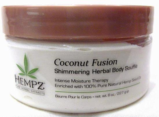 Coconut Fusion Shimmering Herbal Body Soufflé - 227 ml - Bodylotion