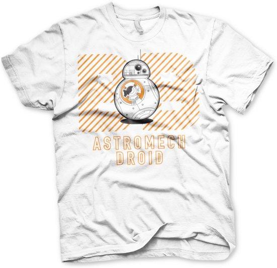 STAR WARS 7 - T-Shirt Astromech Droid White (XL)
