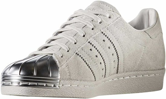 Adidas Sneakers Superstar 80s Dames Wit/zilver Maat 41 1/3