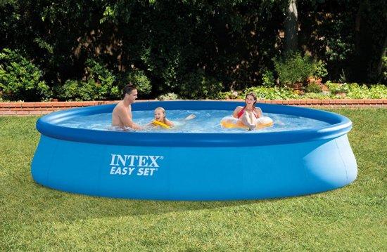 Intex Easy Set zwembad 396x84 (met reparatiesetje)