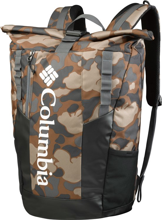 Tas Ibe Brown Unisex Columbia Daypack Camel Convey25l Rolltop dhCQrstxB