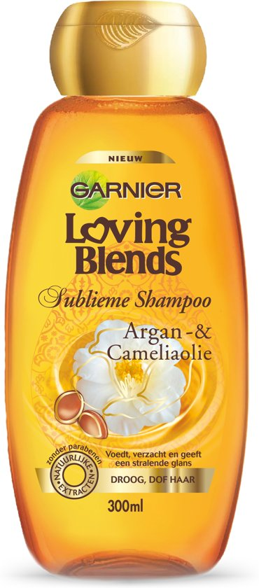 Garnier Loving Blends Argan & Camelia Sublieme Shampoo - 300 ml