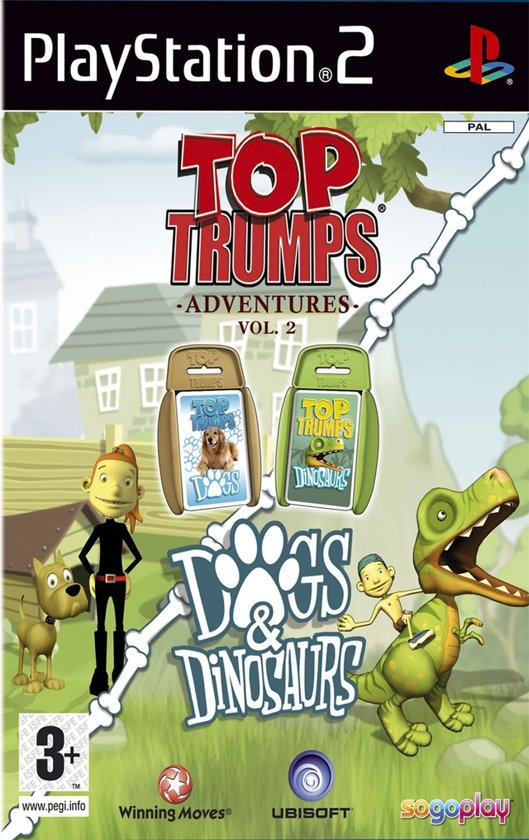 Ubisoft Top Trumps: Dogs & Dinosaurs (PS2)