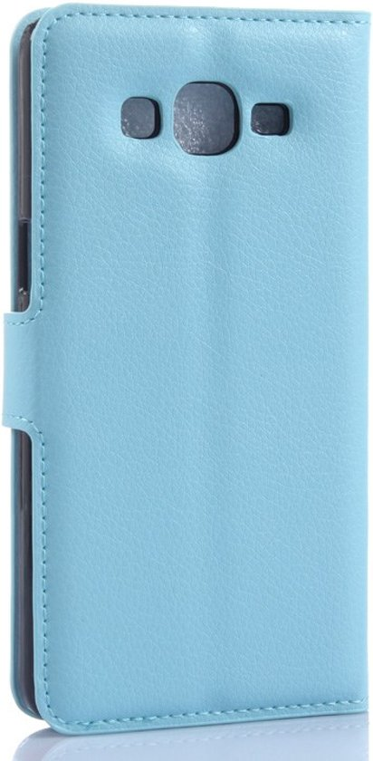 Samsung Galaxy Grand Prime Cover Blauw (SM-G530) in Groede