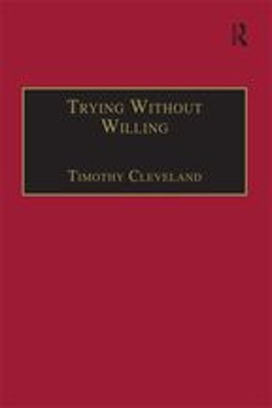 Trying Without Willing