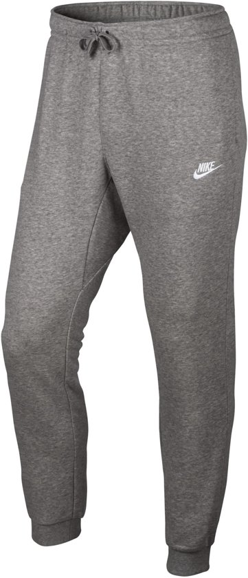Nike Jogger French Terry Club Sportbroek Heren - Dk Grey Heather/(White)
