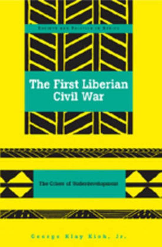 a modern humanitarian crisis in the liberian war