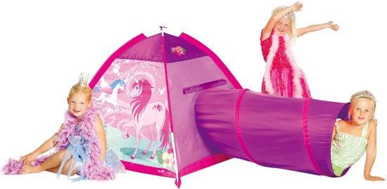 Micasa Unicorn tent met tunnel - Speeltent