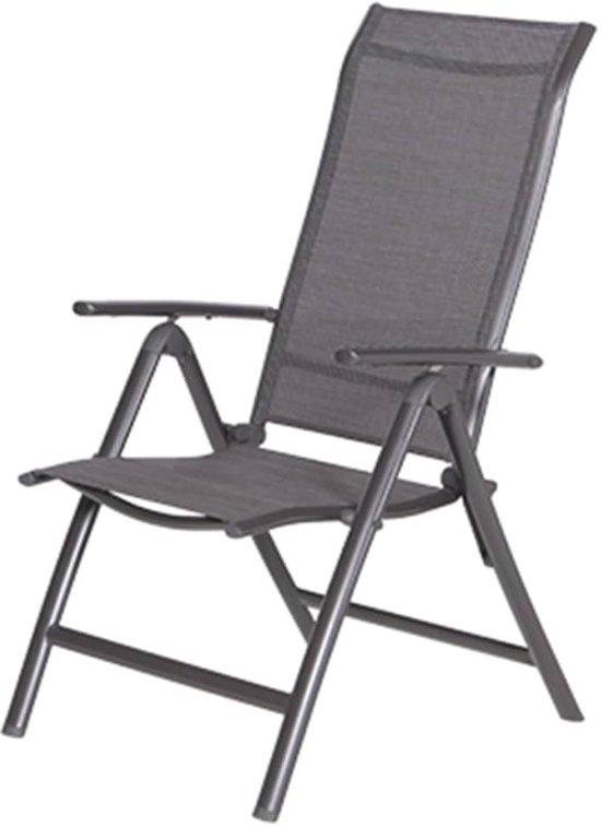 Garden Impressions - Limone - verstelbare stoel - royal grey/heather grey