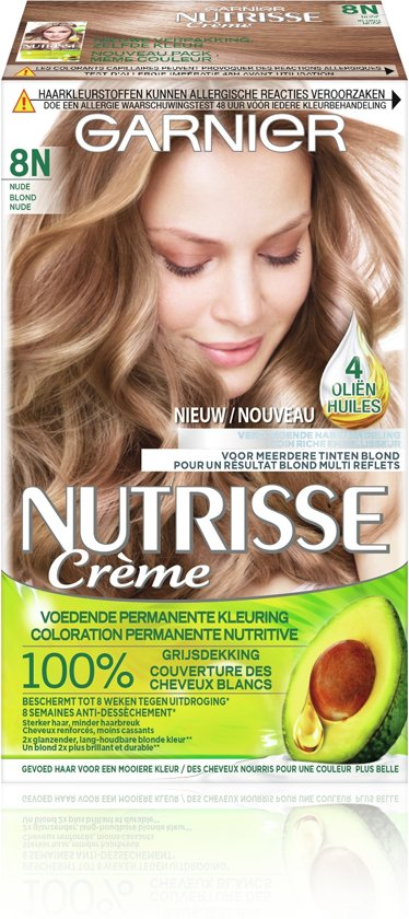 Garnier Nutrisse Nude 8N haarkleuring