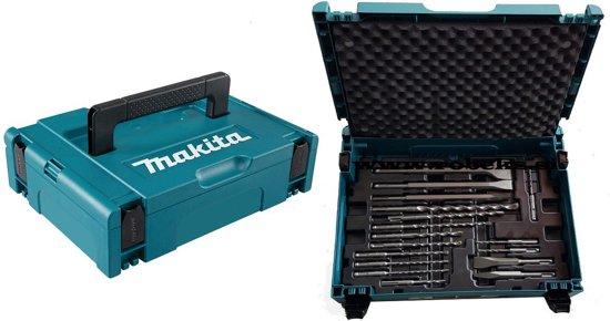 Makita B-52059 SDS-PLUS boor- en beitel set 17 delig in MBOX 1