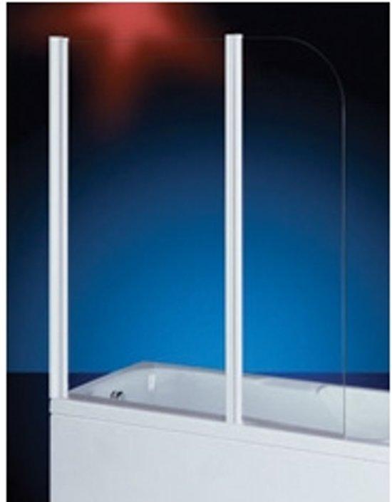 Badklapwand Op Maat.Bol Com Plieger Royal Badklapwand 6mm Glas 70x40x140cm Chroom