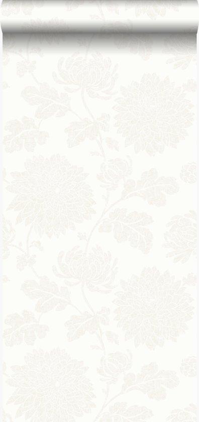 Origin behang bloemen wit - 326146