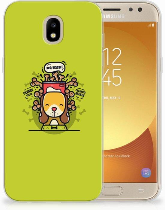 Samsung Galaxy J5 2017 TPU Hoesje Design Doggy Biscuit