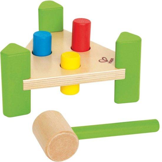 aebf181bd8b1f5 bol.com   Hape houten leerspel Hamer bankje, Hape   Speelgoed