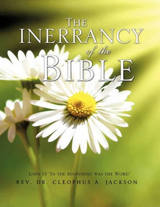 The Inerrancy of the Bible