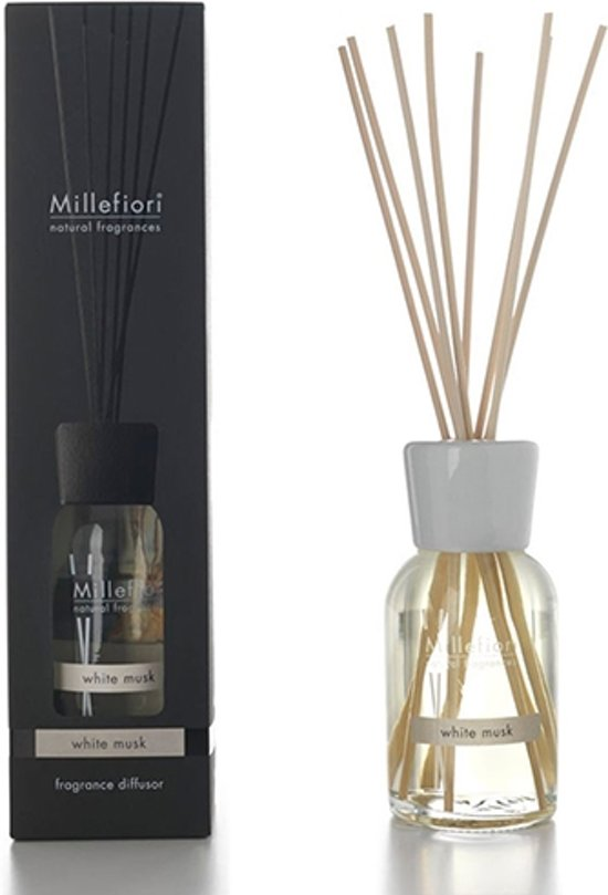 MIllefiori Milano geurstokjes - White Musk