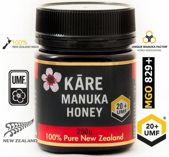 MANUKA HONING (MGO ≥ 829 =) UMF® 20+ 250gr / KARE