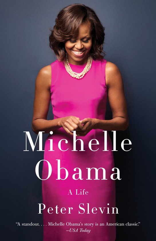 Boek cover Michelle Obama van Peter Slevin (Paperback)