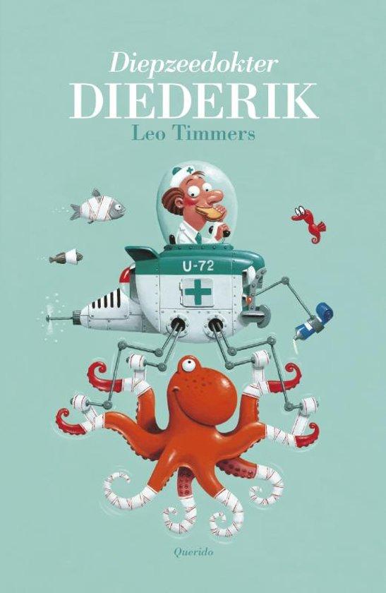 Boek cover Clavisje - Diepzeedokter Diederik van Leo Timmers (Hardcover)