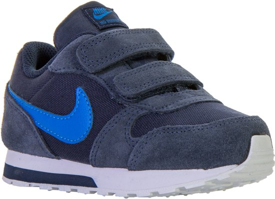 b62b0675733 Nike MD Runner 2 (TDV) Sneakers - Maat 21 - Unisex - donker blauw