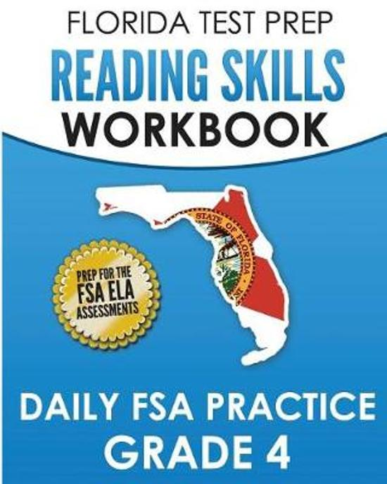 Florida Test Prep Reading Skills Workbook Daily FSA Practice Grade 4