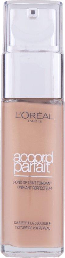 L'Oréal Paris Make-Up Designer Accord Parfait - 7.D/7.W Golden Amber - Foundation
