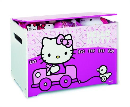 Hello Kitty Opbergrek.Hello Kitty Speelgoedkist Roze