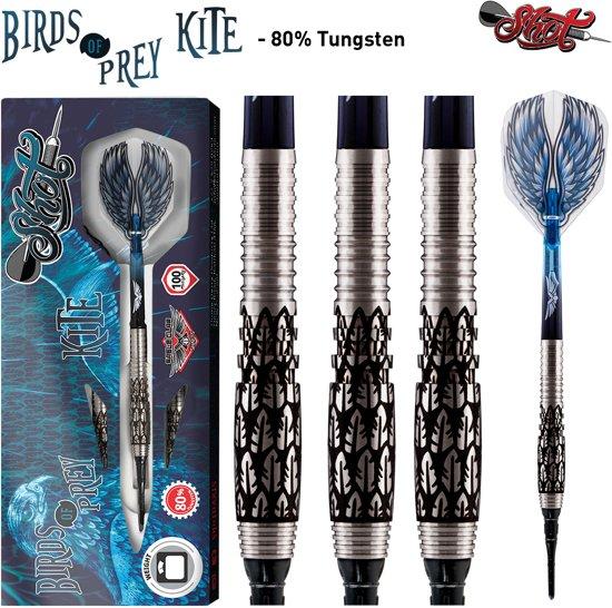 Shot Softtip Birds of Prey Kite 80% 18 gram Darts