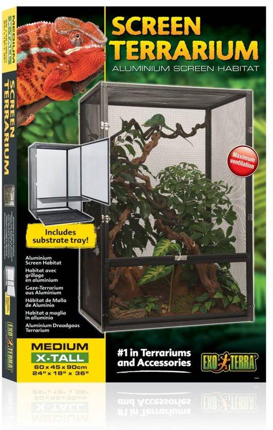 Aluminium Draadgaas Terrarium Small/Tall