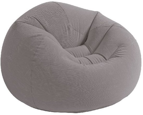 Fabulous Intex Beanless Bag Chair Opblaasbare Stoel Grijs Gmtry Best Dining Table And Chair Ideas Images Gmtryco