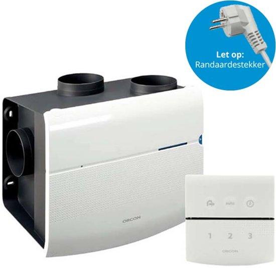 Badkamer Ventilatie Box : Bol orcon mvs rhb ventilatiebox met vochtsensor en draadloze