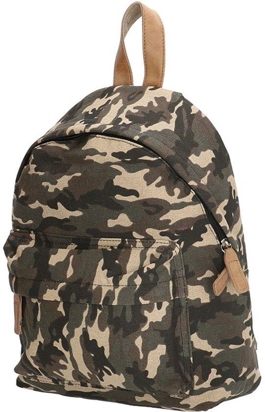 38125742209 bol.com | Beagles Kleine Canvas Rugzak Rugtas School Tas Camouflage ...