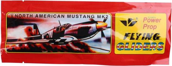 Lg-imports Vliegtuig Glider 20 Cm North American Mustang Mk2