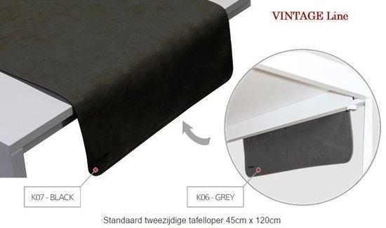 tafelloper Vintage Grey/Black 45120 KOS 6/7