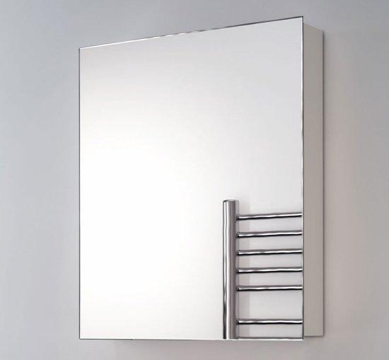 aluminium spiegelkast zonder verlichting 60x70 cm