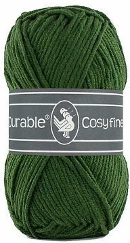 10 x Durable Cosy Fine Forest Green (2150)