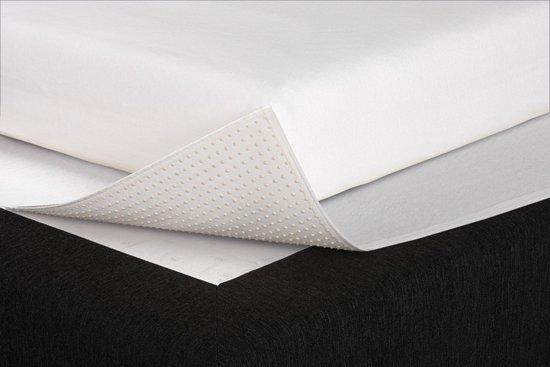 Beter Bed Select Matrasbeschermhoes beschermingspakket: molton en anti-slip matrasbeschermer - 140x220x30cm
