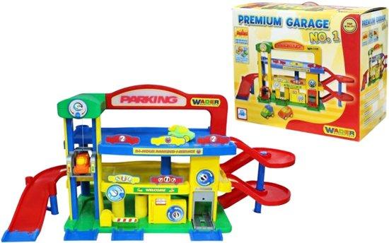 Polesie Premium Garage met Auto's