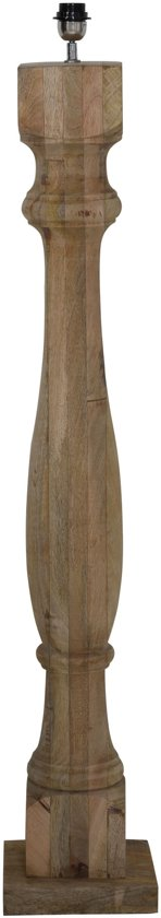 Light & Living Vloerlamp  ROBBIA 23x23x125 cm  -  hout naturel