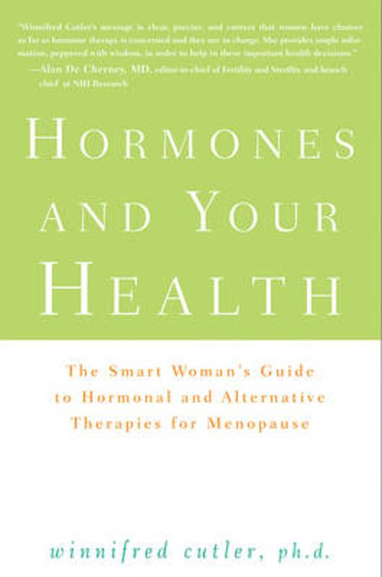 Hormones and Your Health