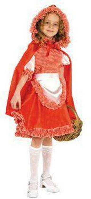 Roodkapje - Kostuum - Maat 128