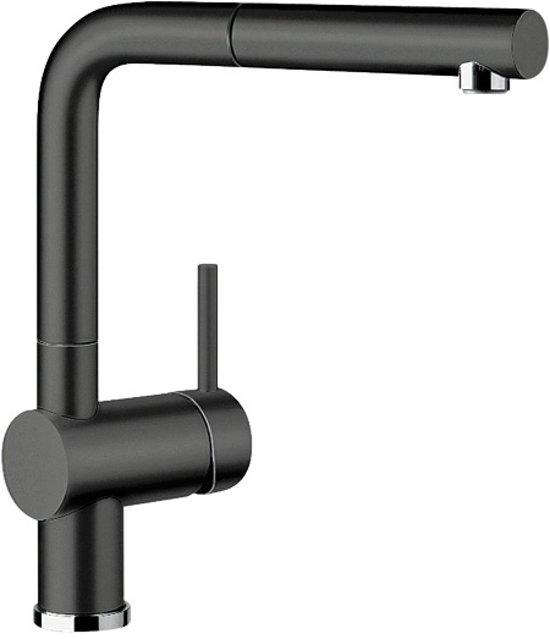 keukenkraan blanco linus s keramiek look zwart. Black Bedroom Furniture Sets. Home Design Ideas