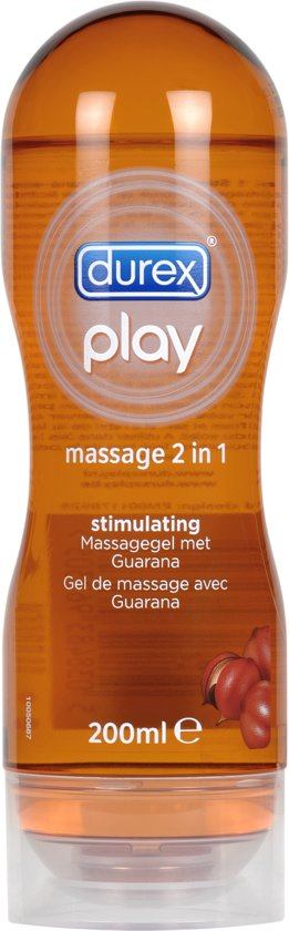 Durex Play Massage 2 in 1 Guarana Glijmiddel - 200 ml - Guarana