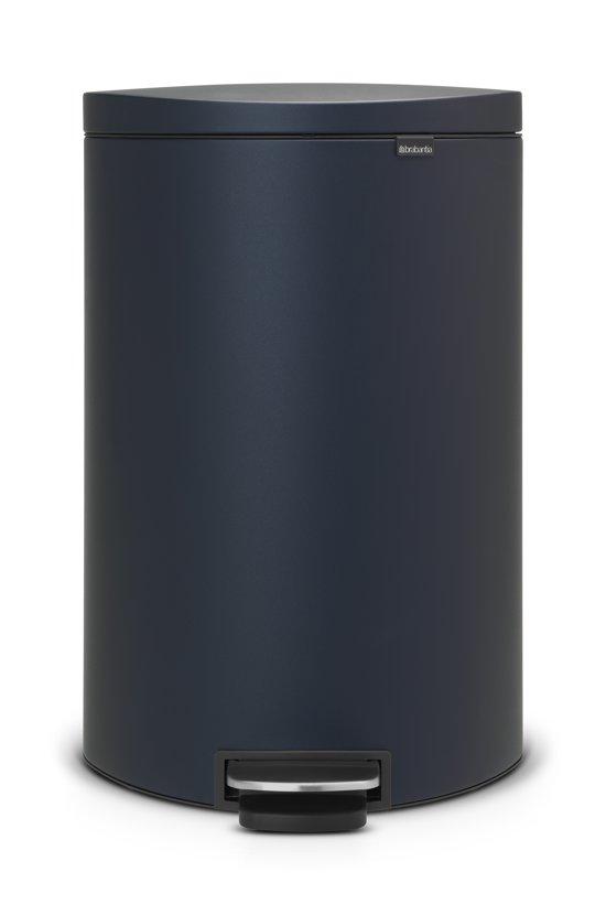 Brabantia Prullenbak 40 Liter.Bol Com Brabantia Flatback Sense Of Luxury Prullenbak 40 L
