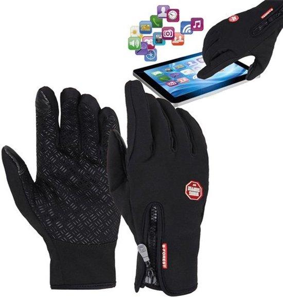 Fietshandschoenen Winter Met Touch Tip Gloves - Touchscreen Ski Handschoenen Fiets - Dames / Heren M