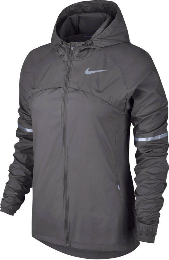Nike Shield Phenom Pant  Sportjas - Maat XS  - Vrouwen - grijs